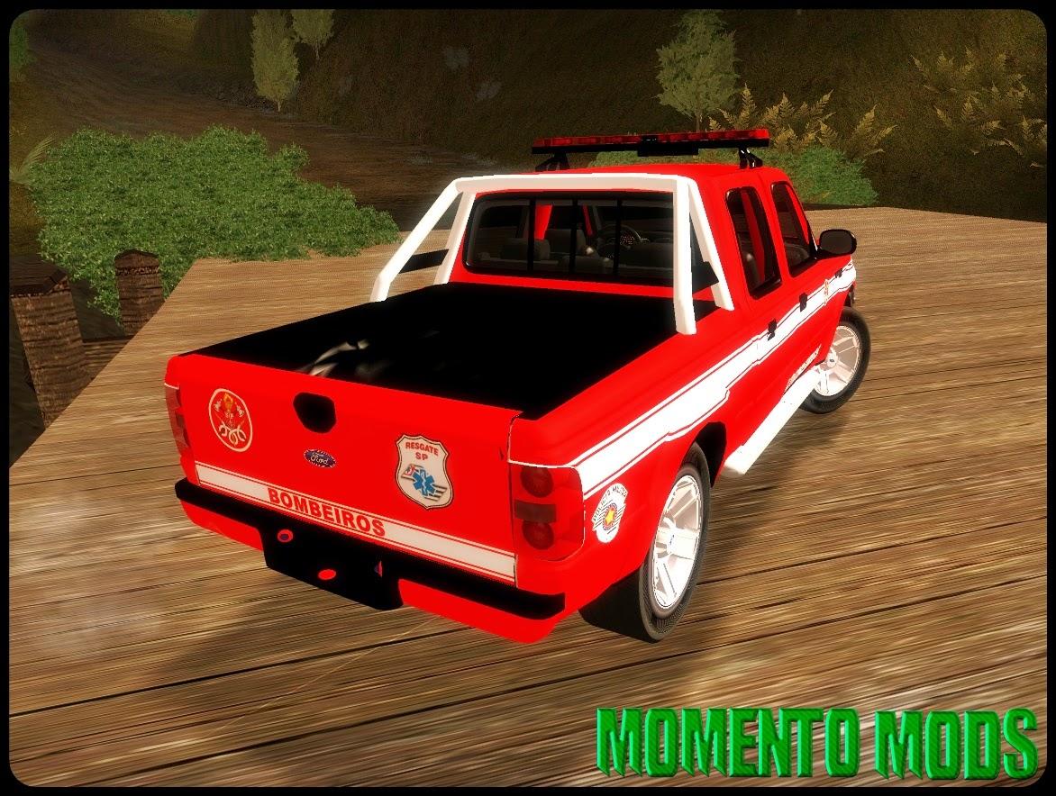 GTA SA - Ford Ranger 2008 XLR Bombeiros SP