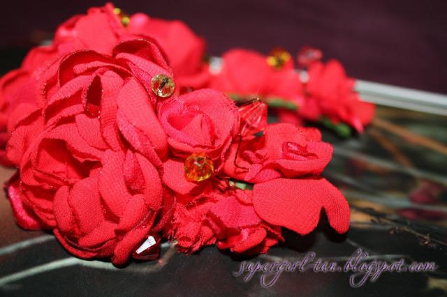 веночек с цветами