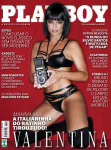 Revista Playboy Valentina Francavilla Março 2012