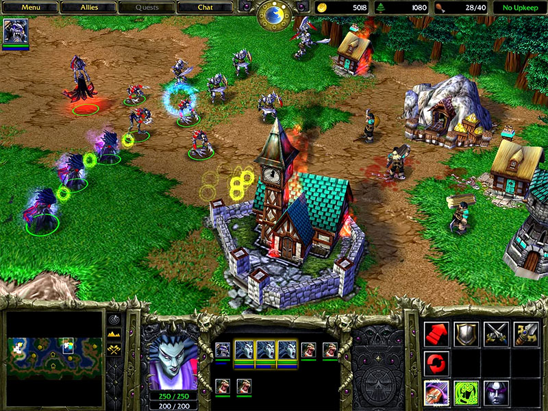 Free Download Pc Games WarCraft III Reign Of Chaos RIP (Link Mediafire