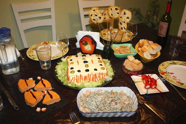 Mis recetas dulces y saladas cena para ir sin prisas - Cena de picoteo en casa ...