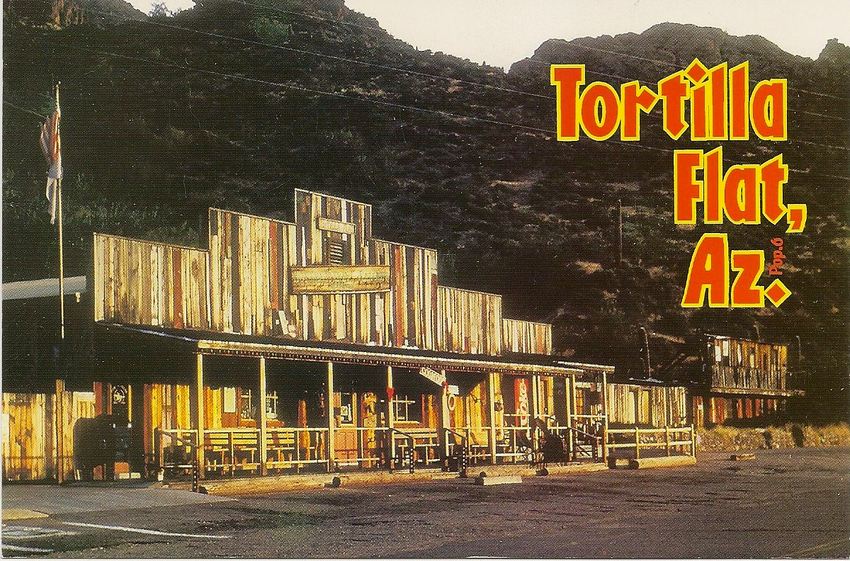 tortilla flat Tortilla flat is the only authentic stagecoach stop to survive the 1900's along the  apache trail a remnant of the old west, and still serving adventurous travelers.