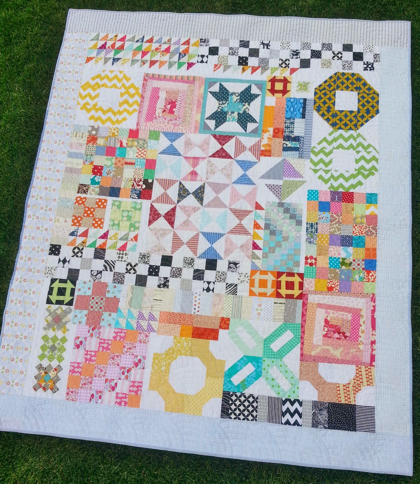 Kitchen Sink Quilt Finished