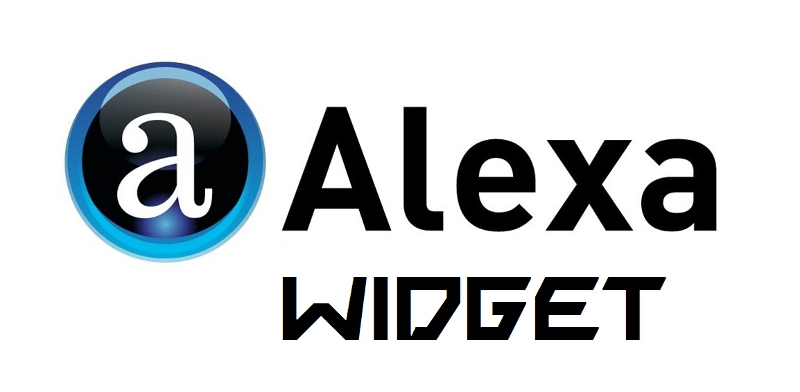 Cara Membuat/Memasang Widget Alexa Rank Pada Blog