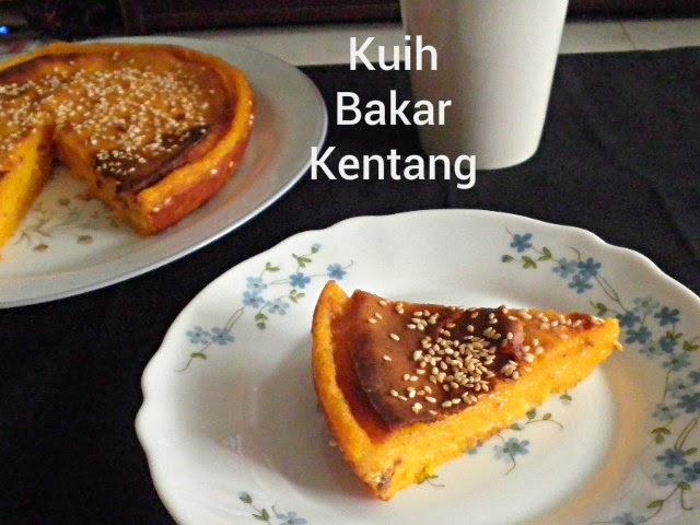 Baled Potato Cake Recipe  @ http://treatntrick.blogspot.com