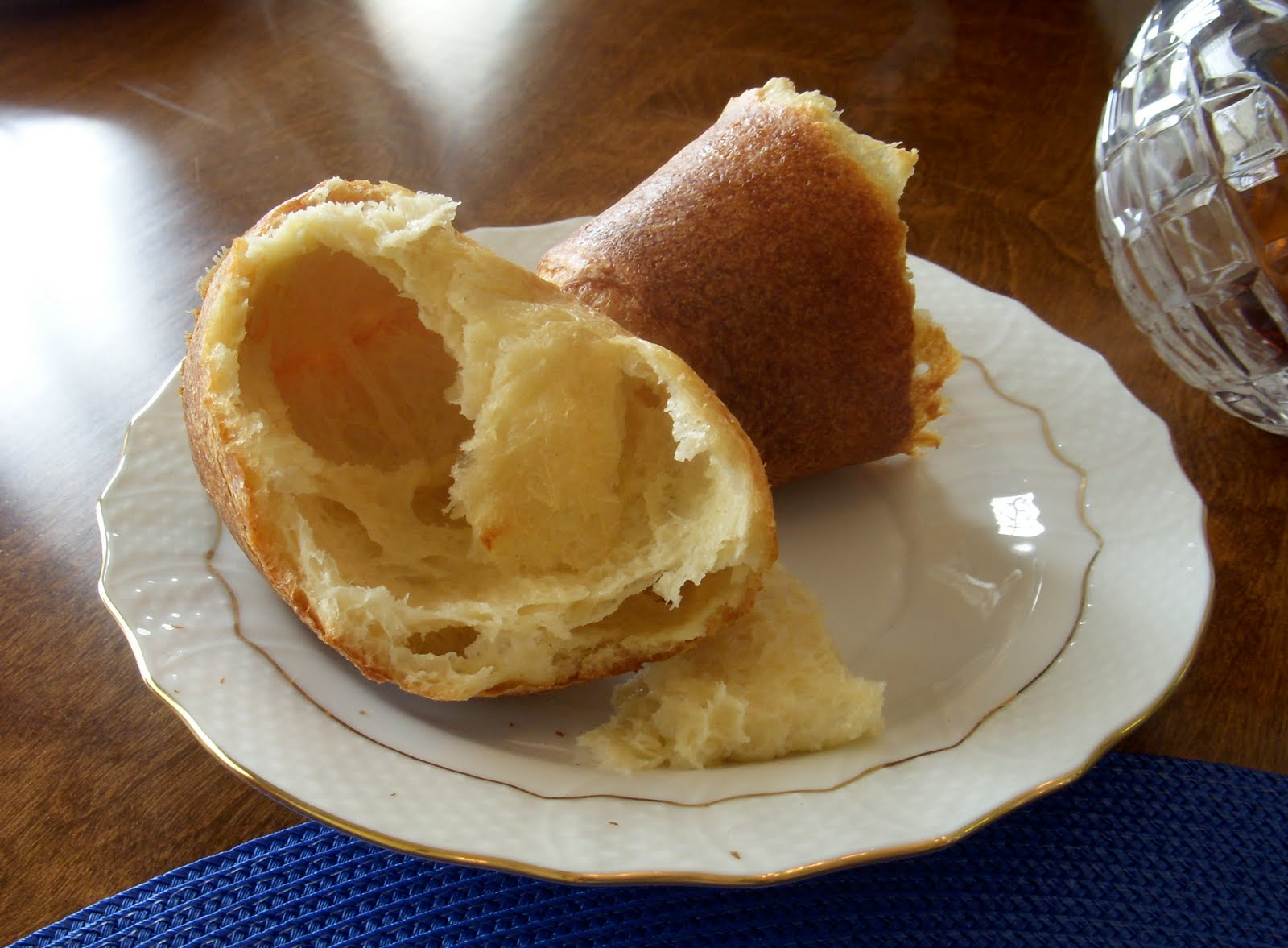 Popovers with Strawberry Butter – Dallas Duo Bakes