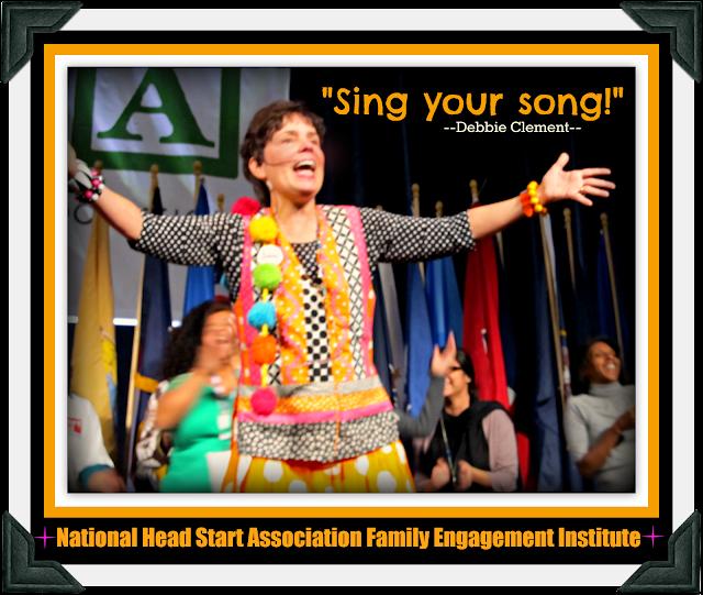 photo of: Debbie Clement Keynote for National Head Start Association