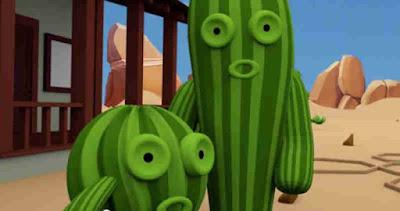film animasi indonesia pendidikan  kisah kaktus