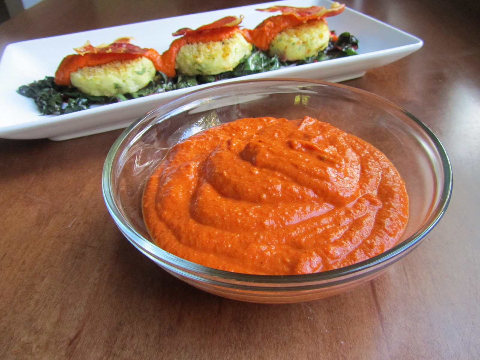 Loaves n Dishes: ROMESCO SAUCE (Roasted Red Pepper)