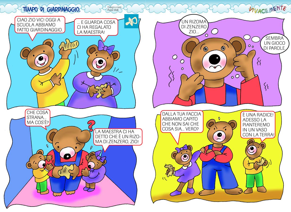 Top VIVACEMENTE con il cuore e con la mente: Storie a fumetti per  IC38
