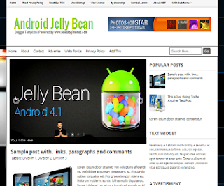 Android+Jelly+Bean+Blogger+Template