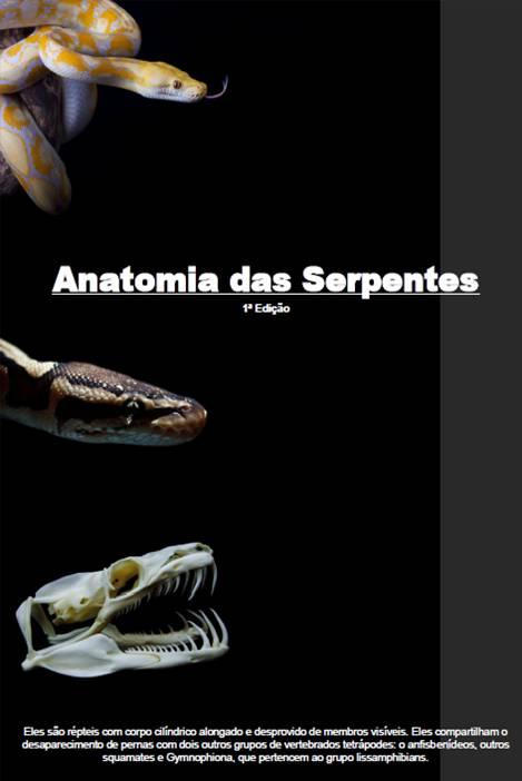 E BOOK Anatomia das Serpentes   1ª Edição