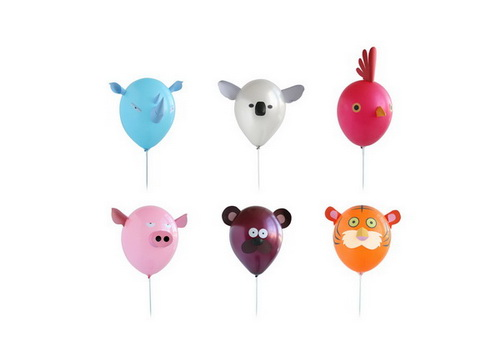 Create your own party animals!
