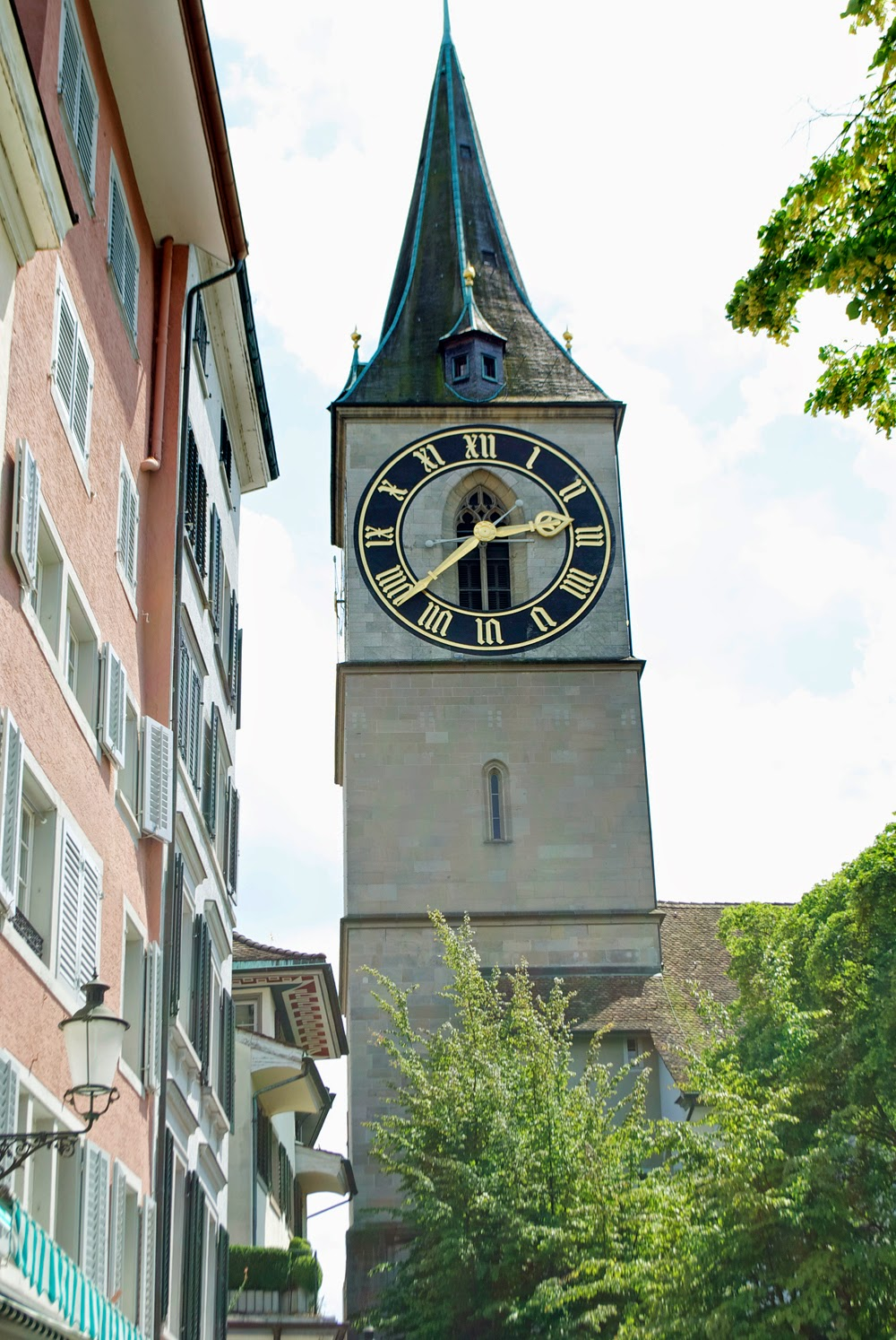 Zurich Clock face