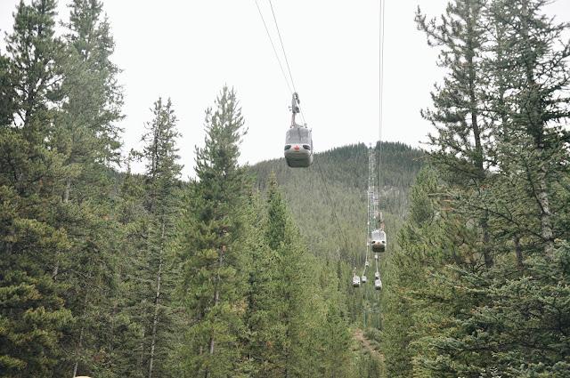 Banff Gondola at Sulphur Mountain
