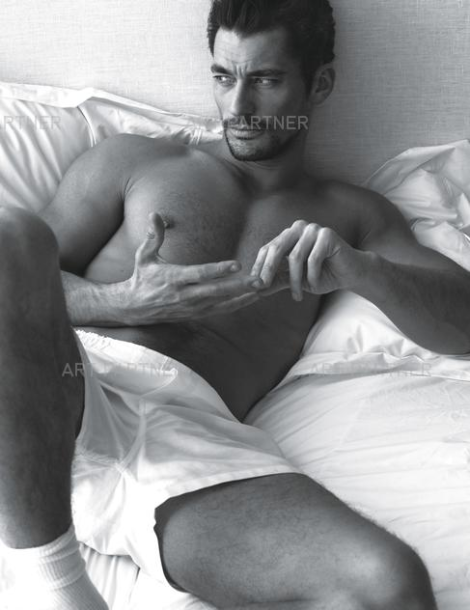 David Gandy by Mert & Marcus for W Magazine