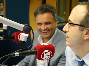 """""""PT está envergonhado com a campanha que fez"""" afirma Aécio Neves em entrevista a rádio Jovem Pan - VEJA O VÍDEO"""