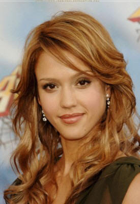 Jessica+Alba+curly+hairstyles Teen Suspended For Anti Bullying Video & Fake Facebook with Fake Teen ...
