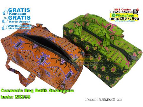 Cosmetic Bag Batik Serbaguna