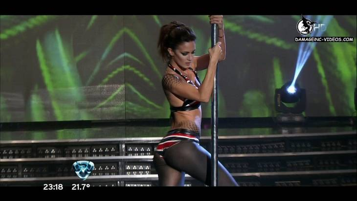 Argentina Celebrity Paula Chaves Pole Dance in HD 720p damageinc-videos