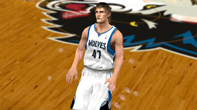 NBA 2K13 Andrei Kirilenko Face 2K Update