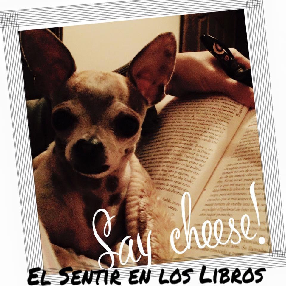 Ella y los libros... mi vida!!