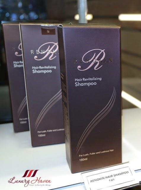 eha skincare renokin hair revitalizing shampoo