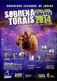 Congresso Estadual de Jovens Sobrenaturais em Feira de Santana.