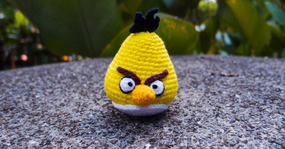 Yellow Angry Bird Amigurumi ~ Snacksies Handicraft Corner