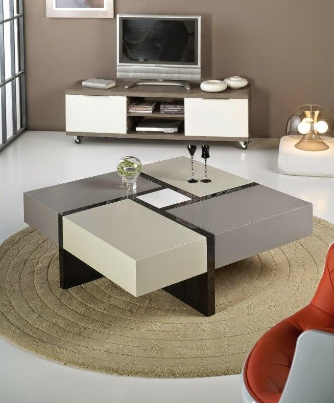 Mesas ratonas decoractual dise o y decoraci n - Mesas bajas de centro ...
