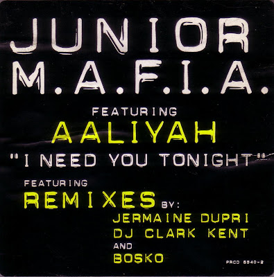Junior M.A.F.I.A. – I Need You Tonight (The Remixes) (Promo CDS) (1995) (320 kbps)
