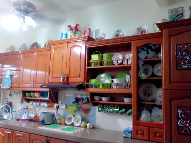 rencah kehidupanku susun atur di dapur