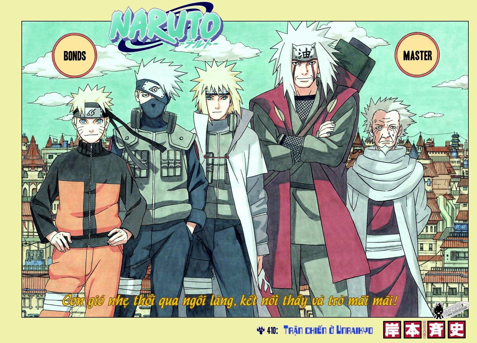 Naruto chap 410 Trang 3 - Mangak.info