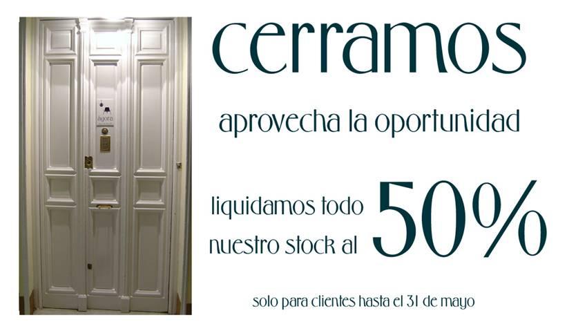 Liquidaci n por cierre tienda muebles tipo n rdico a os 50 for Muebles oficina baratos liquidacion por cierre