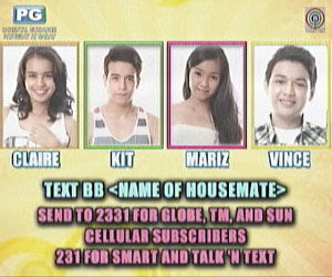 PBB Teen Edition 4 1st Eviction Night, Vince Evicted!