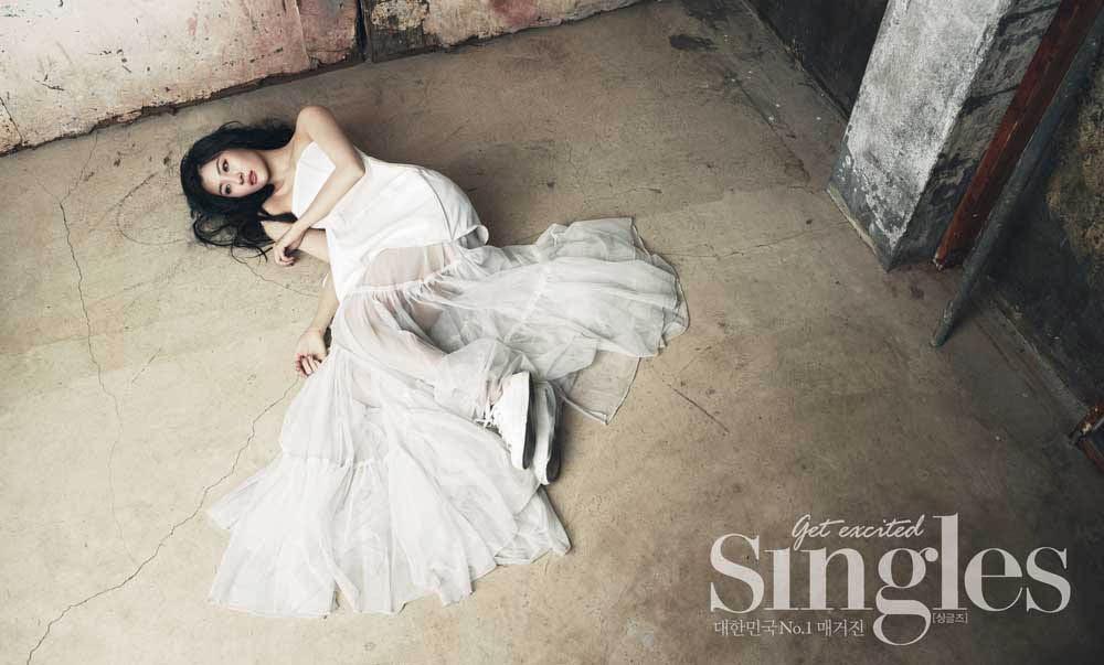 Sun Mi - Singles Magazine April Issue 2014