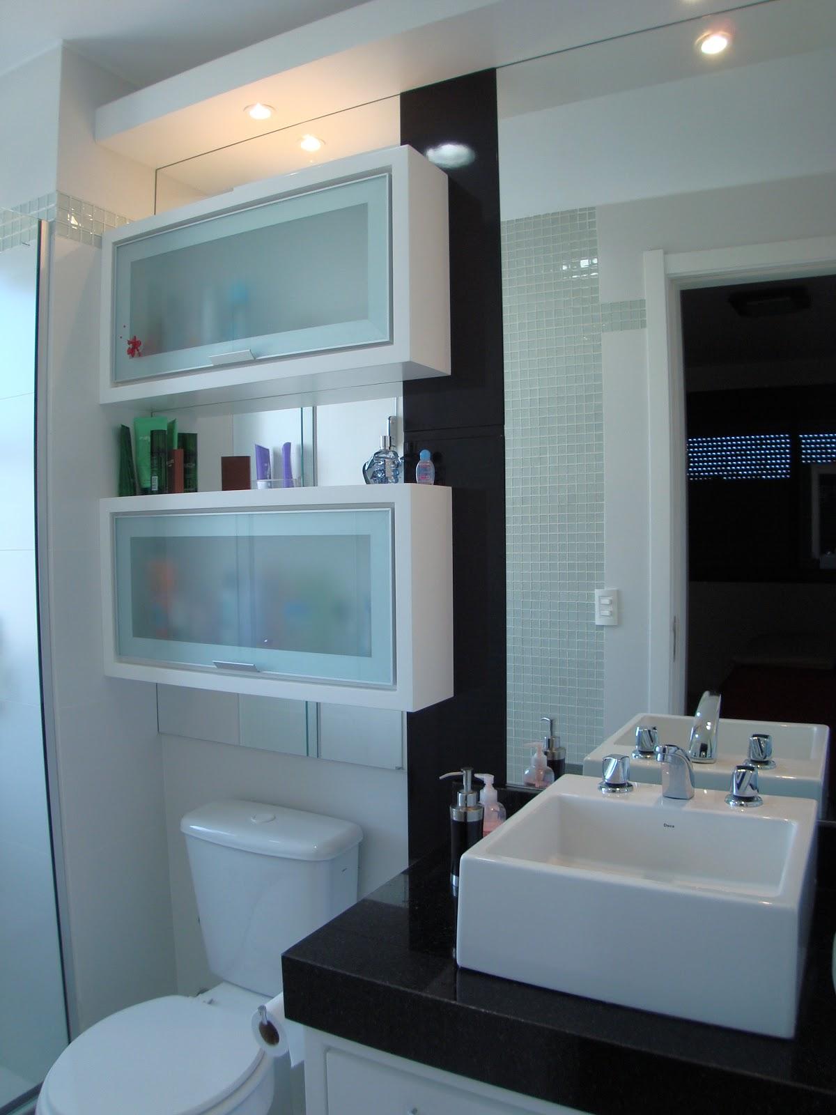 Andréa Pereira Interiores: Banheiros #826A49 1200x1600 Banheiro Com Nicho