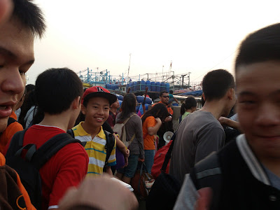 perjalanan ke kapal tujuan Pulau Tidung