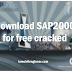 Download SAP2000 free cracked