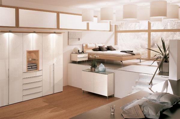 غرف نوم مودرن بسيطة 2013