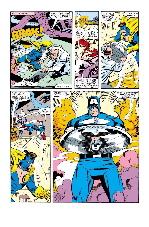 Captain America (1968) Issue #304 #232 - English 22