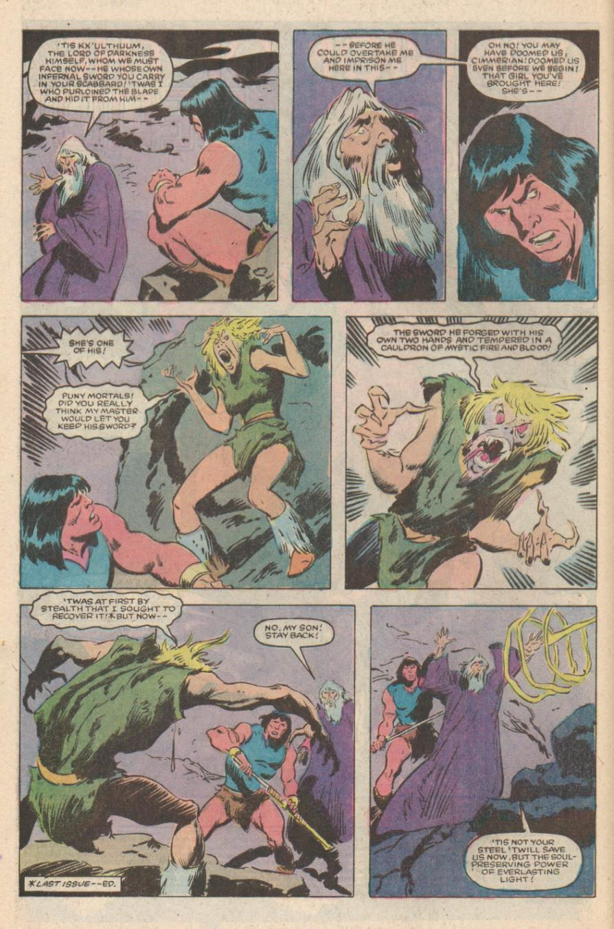 Conan the Barbarian (1970) Issue #170 #182 - English 3