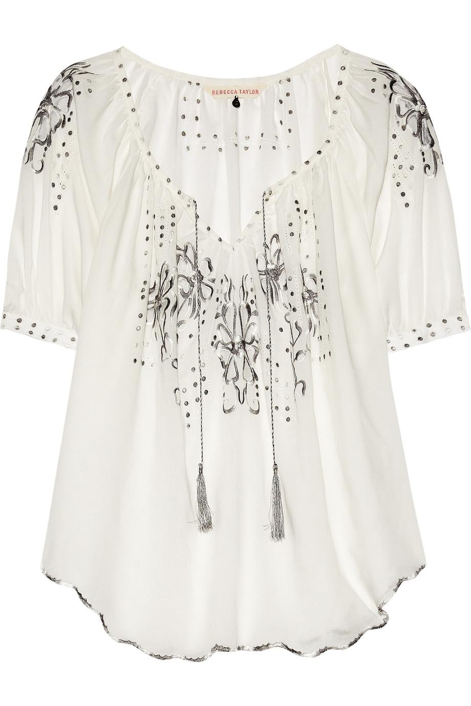 Блузка В Народном Стиле Купить