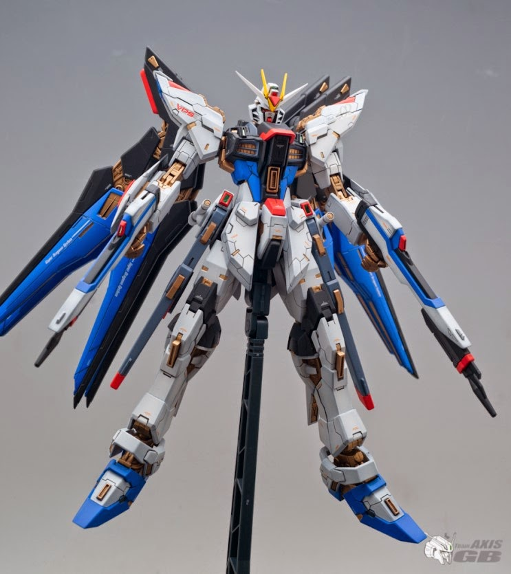 Custom Build: MG 1/100 ZGMF-X20A Strike Freedom Gundam ...