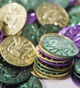 Mardi Gras Coins