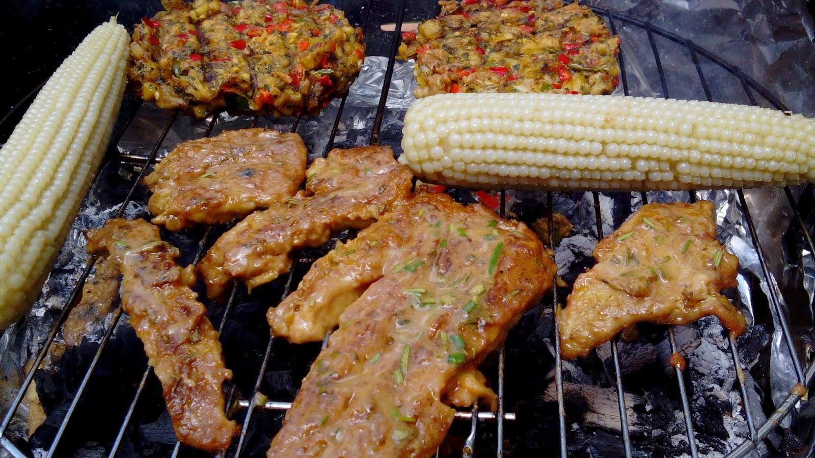 grigliata vegan di seitan (meatout)