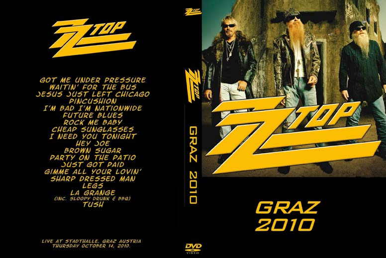 Zz top 2010 10 14 stadthalle graz austria - Zz top la grange drum cover ...
