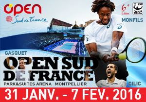 Watch 2016 Open Sud de France Live