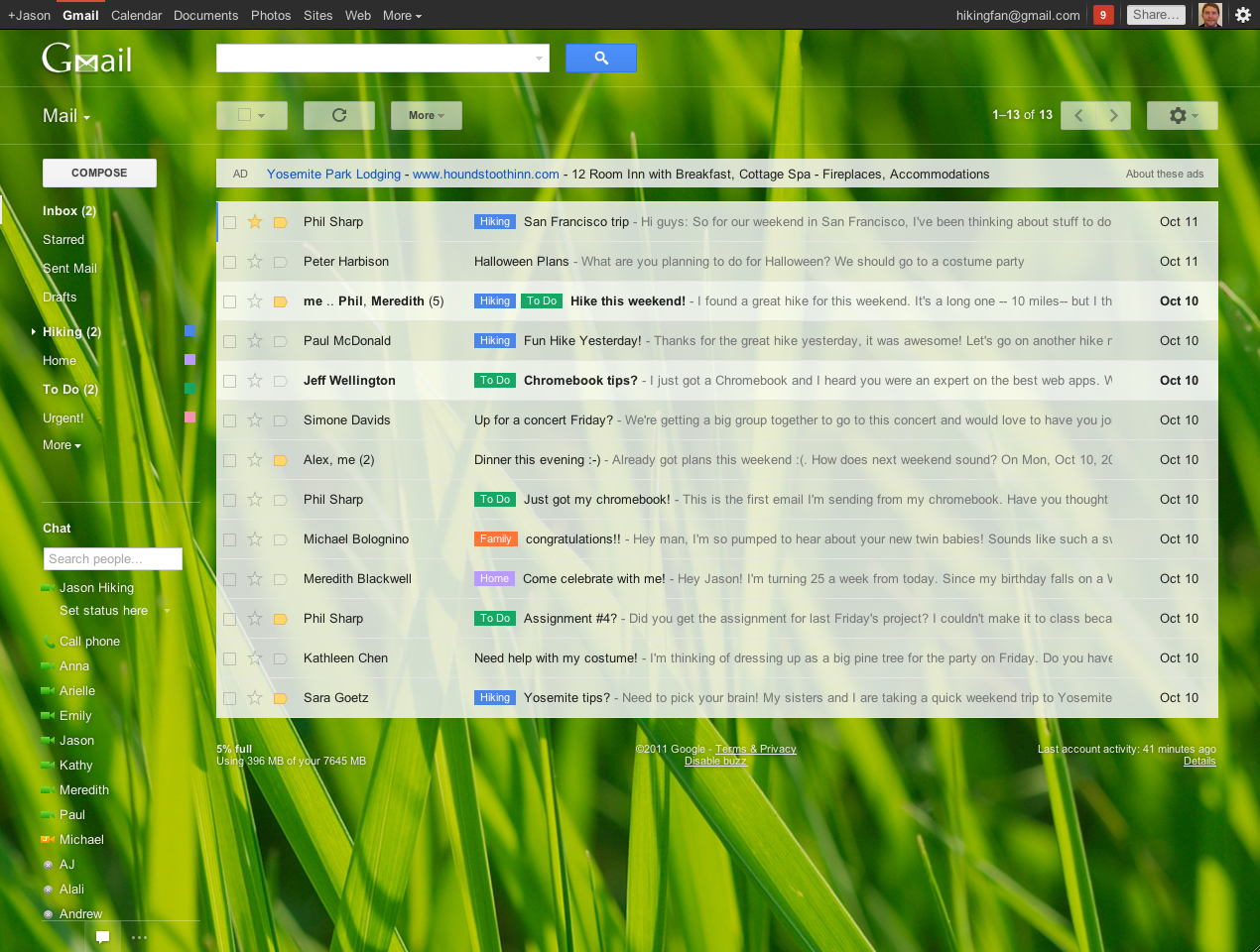 Gmail themes background image - Gmail Themes Background Image 43