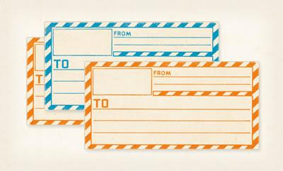 Etiquetas,imprimibles,gratis, free,printable,vintage,mailing,labels
